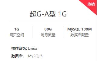 国内双线/BGP机房超G型虚拟主机 西部数码超级超大流量虚拟主机
